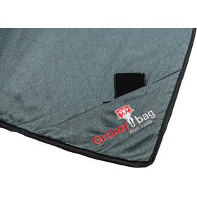 Grüezi-Bag WellhealthBlanket Wool Deluxe smoky blue/grey